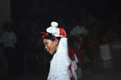 School dance in Punta Maldonado. Photo: Sergio Ferrer Archive